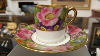 Cup and Saucer - Rosenthal - 1920
