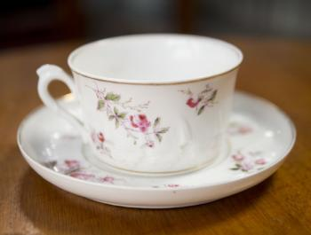 Cup and Saucer - porcelain - 1810
