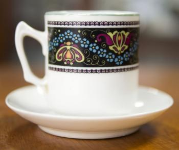 Cup and Saucer - porcelain - 1930